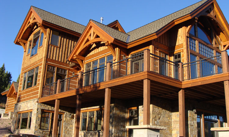 Montana Home Builders Milligan Custom Homes Big Sky